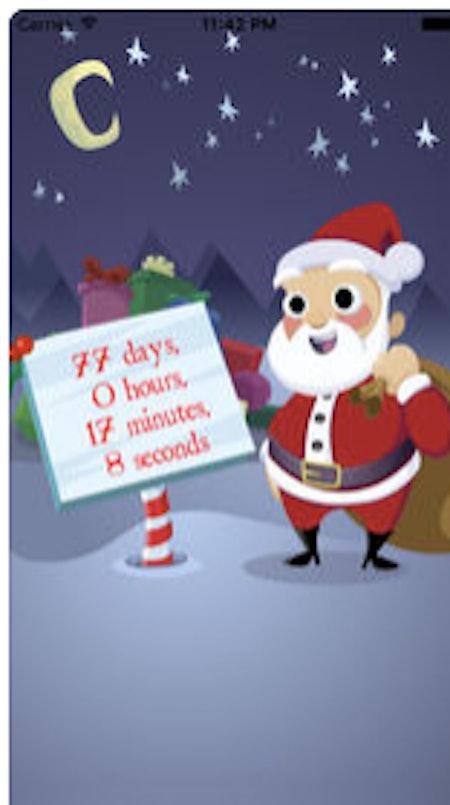 Sleeps To Christmas 2 Christmas Countdown by Dardan Software Limited
