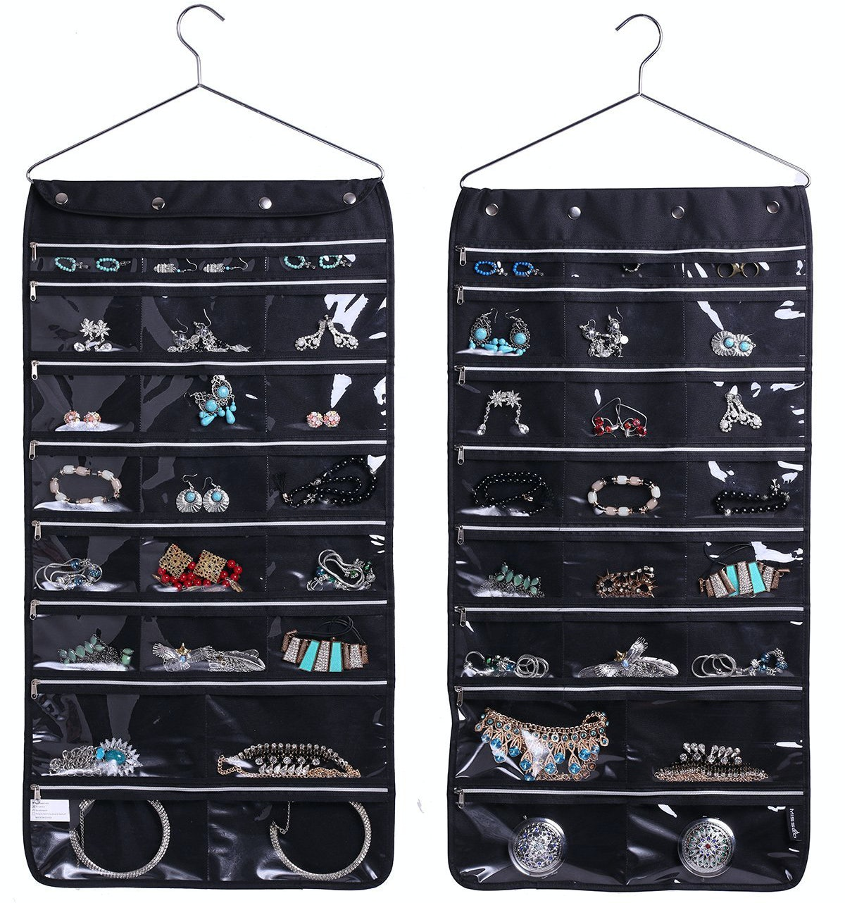 TRAVELING EARRING//JEWELRY 32 SLOT JEWELRY DISPLAY CASE