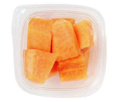 Papaya Chunks With Lime