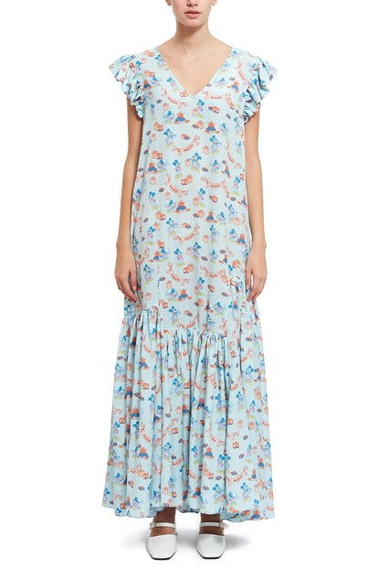 DISNEY PRINTED DRESS