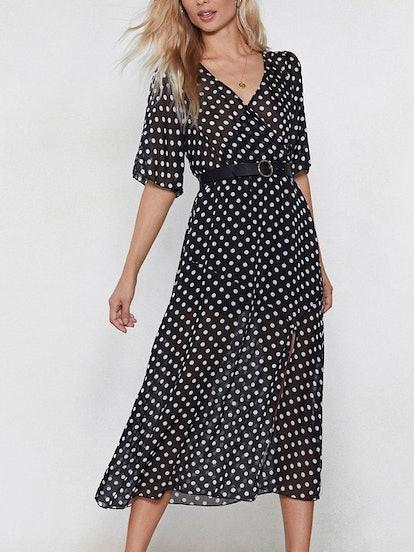 Hit the Spot Polka Dot Dress