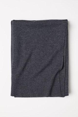 Cashmere-blend Throw