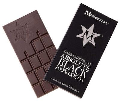 Absolute Black 100 Percent Cocoa Dark Chocolate Bar (2-Pack)