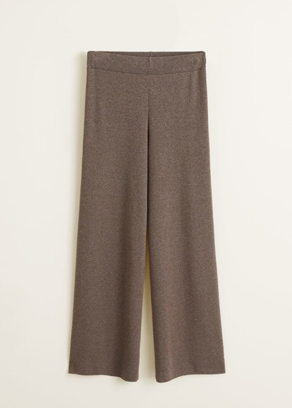 Ribbed Soft Trousers