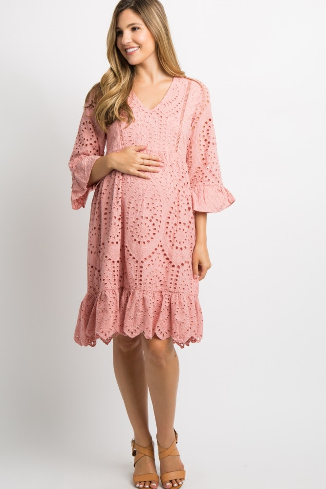 d7b3d3f057c36 20 Fall Maternity Dresses To Pick Up So You Can Avoid Wearing Pants As Long  As Possible