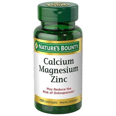 Nature's Bounty Calcium-Magnesium-Zinc, 100-Count