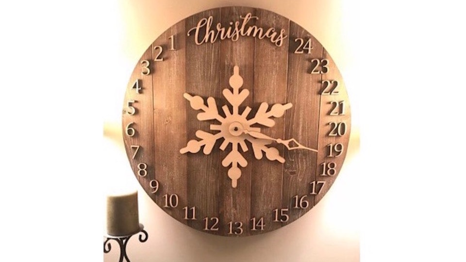 Countdown To Christmas Clock.10 Christmas Countdown Clocks To Get You In A Festive Mood