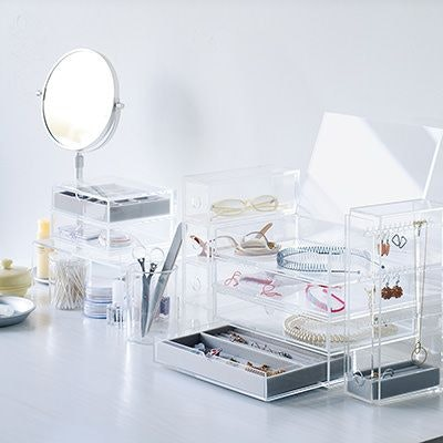 Acrylic Storage Drawers With Lid