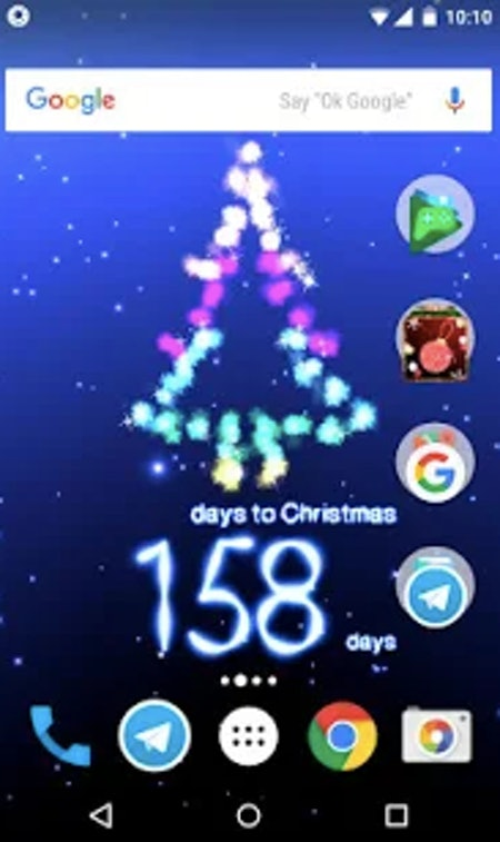 Christmas countdown by Aqreadd Studios