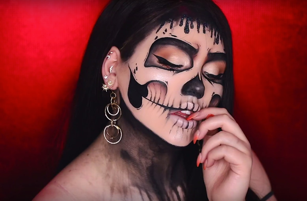 The 8 Best Halloween 2018 Makeup Tutorials, Because We Could All Use A Little Spooky Glam