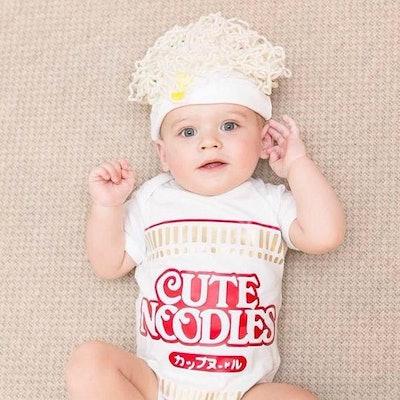 Buzz Bear Studio on Etsy Ramen Noodle Baby Costume