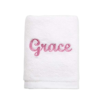 Name Embroidered Hand Towels