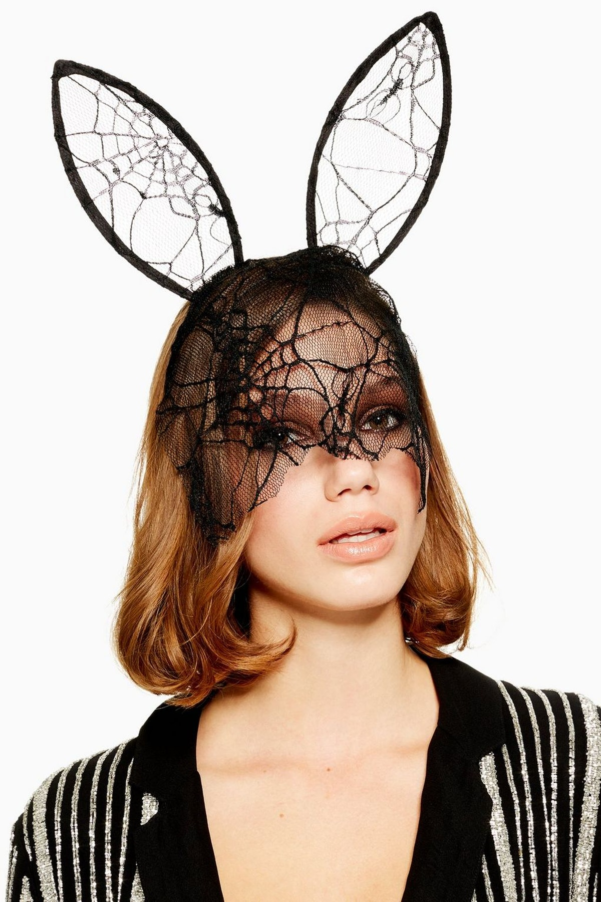 Halloween Cobweb Veil