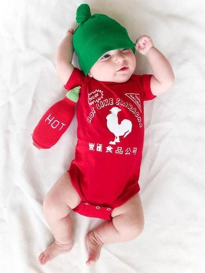 Buzz Bear Studio on Etsy's Sriracha Costume