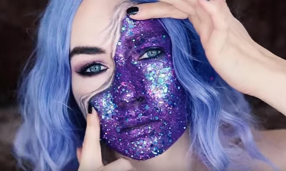 11 mesmerizing optical illusion makeup tutorials for halloween 2018