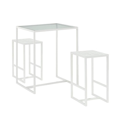 Now House by Jonathan Adler Vally Bistro Dining Table Set, White