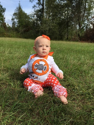 Simply Cloth Boutique on Etsy BB8 Tie On Costume