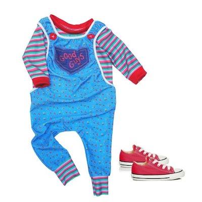 Fancy Schamancy Baby on Etsy's Chucky Romper