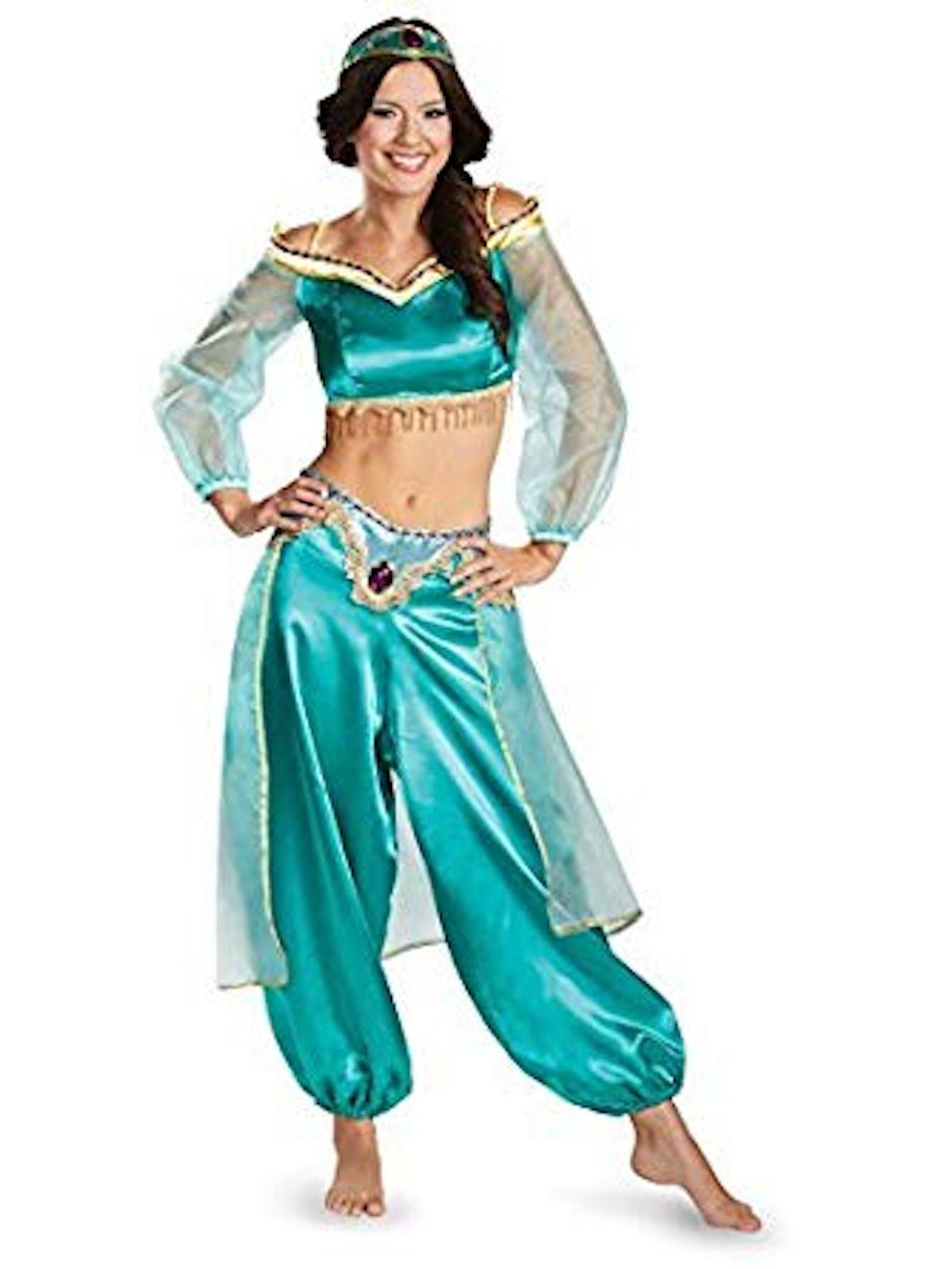 Women's Aladdin Jasmine Prestige Costume