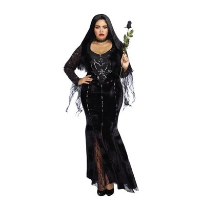 Dreamgirl Women's Plus-Size Frightfully Beautiful Costume