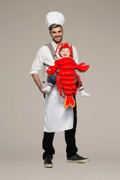 Chef and Lobster Baby Carrier Costume