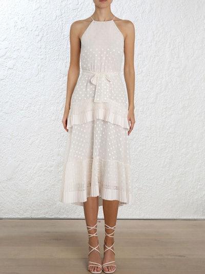 Pleated Tier Picnic Dress