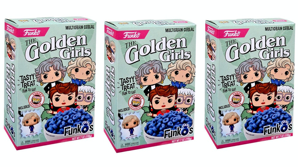 Golden Girls Cereal Is Available At Target The Box Might Just Be