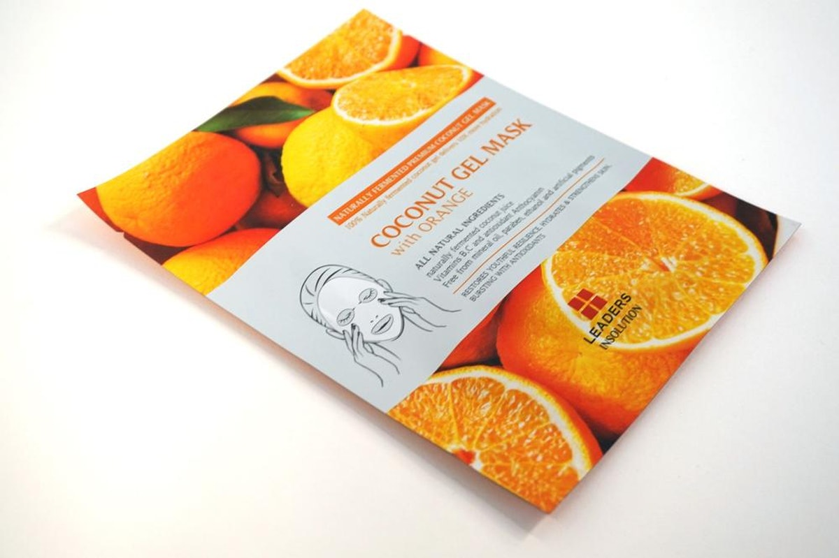 Leaders Coconut Gel Mask With Orange
