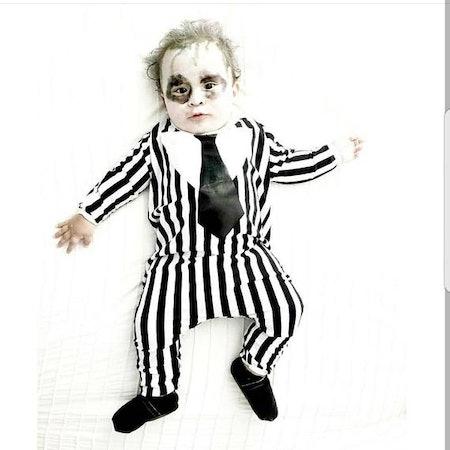 Fancy Schmancy Baby on Etsy's Baby Beetlejuice Costume