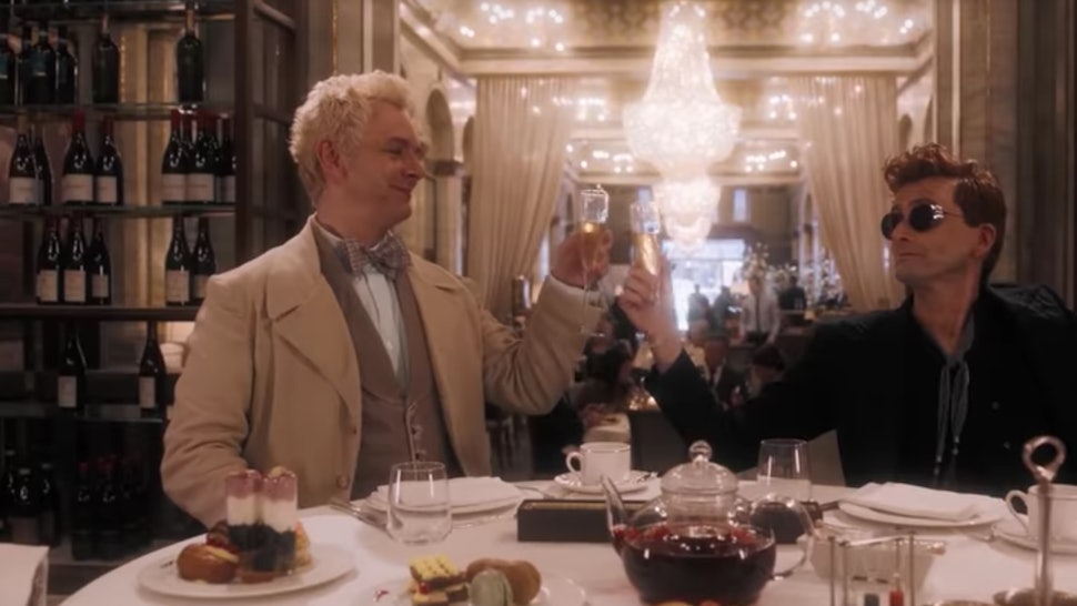 Aziraphale & Crowley's Relationship In 'Good Omens' Is More Of A