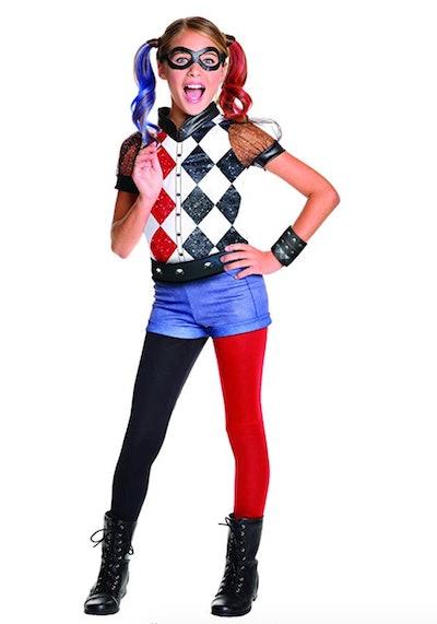 DC Superhero Girl's Harley Quinn Costume