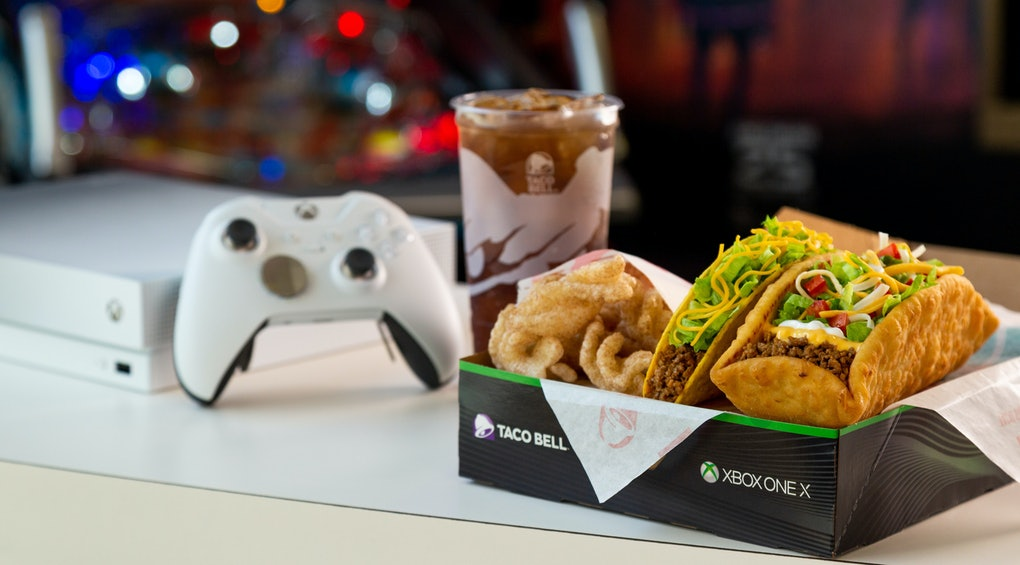 Taco Bells 5 Double Chalupa Box Could Win You A Limited Edition Xbox One So Order Up