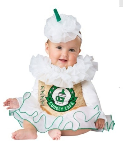 Cuddly Cappuccino Costume