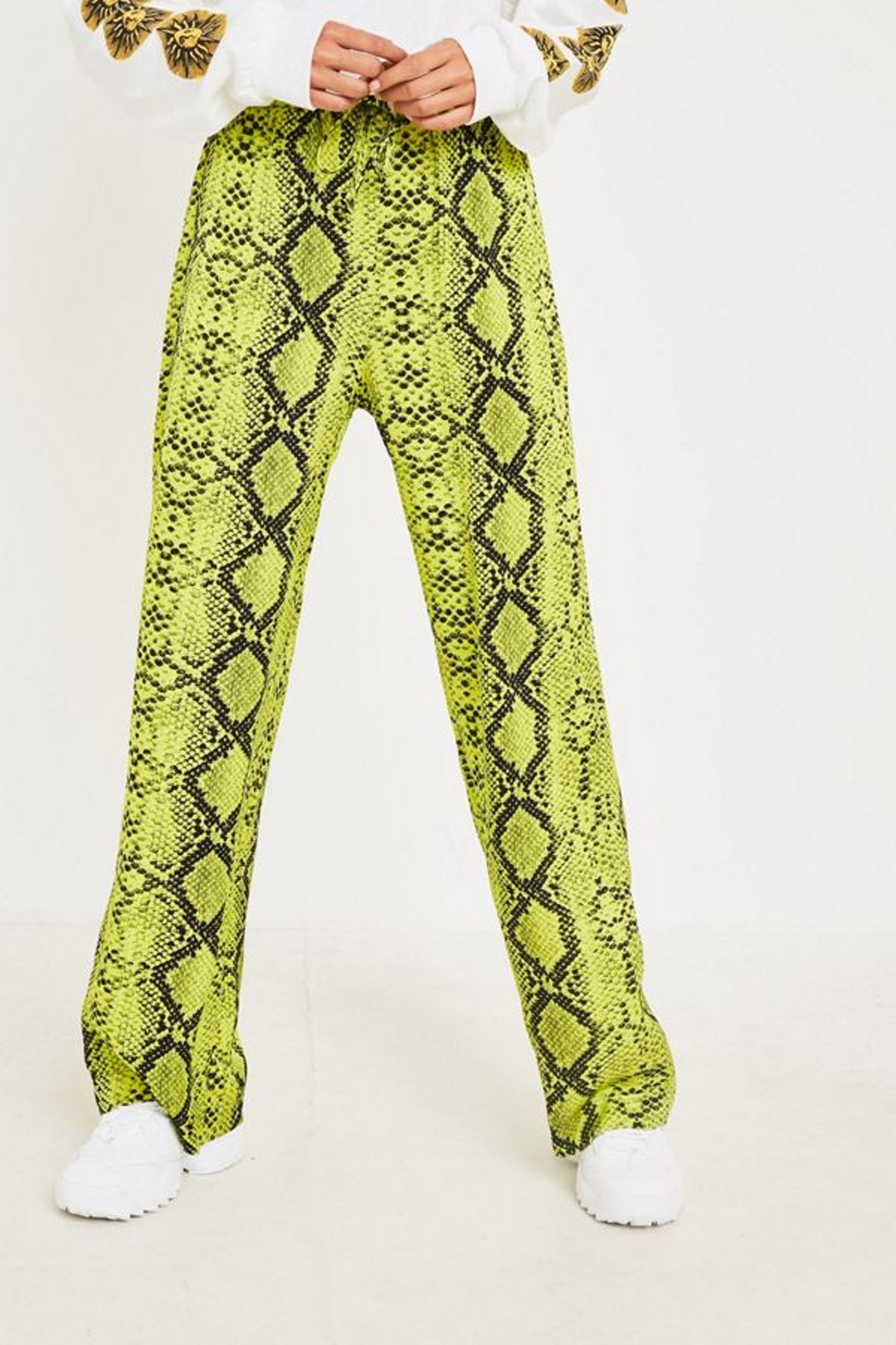 UO Neon Snake Print Pull-On Pant