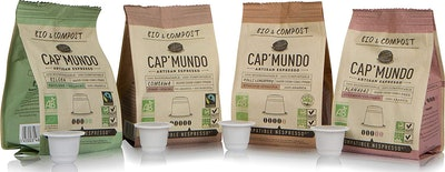 Cap'Mundo Coffee Capsules Variety Pack, 40-Count