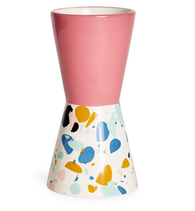 Terrazzo Hourglass Vase