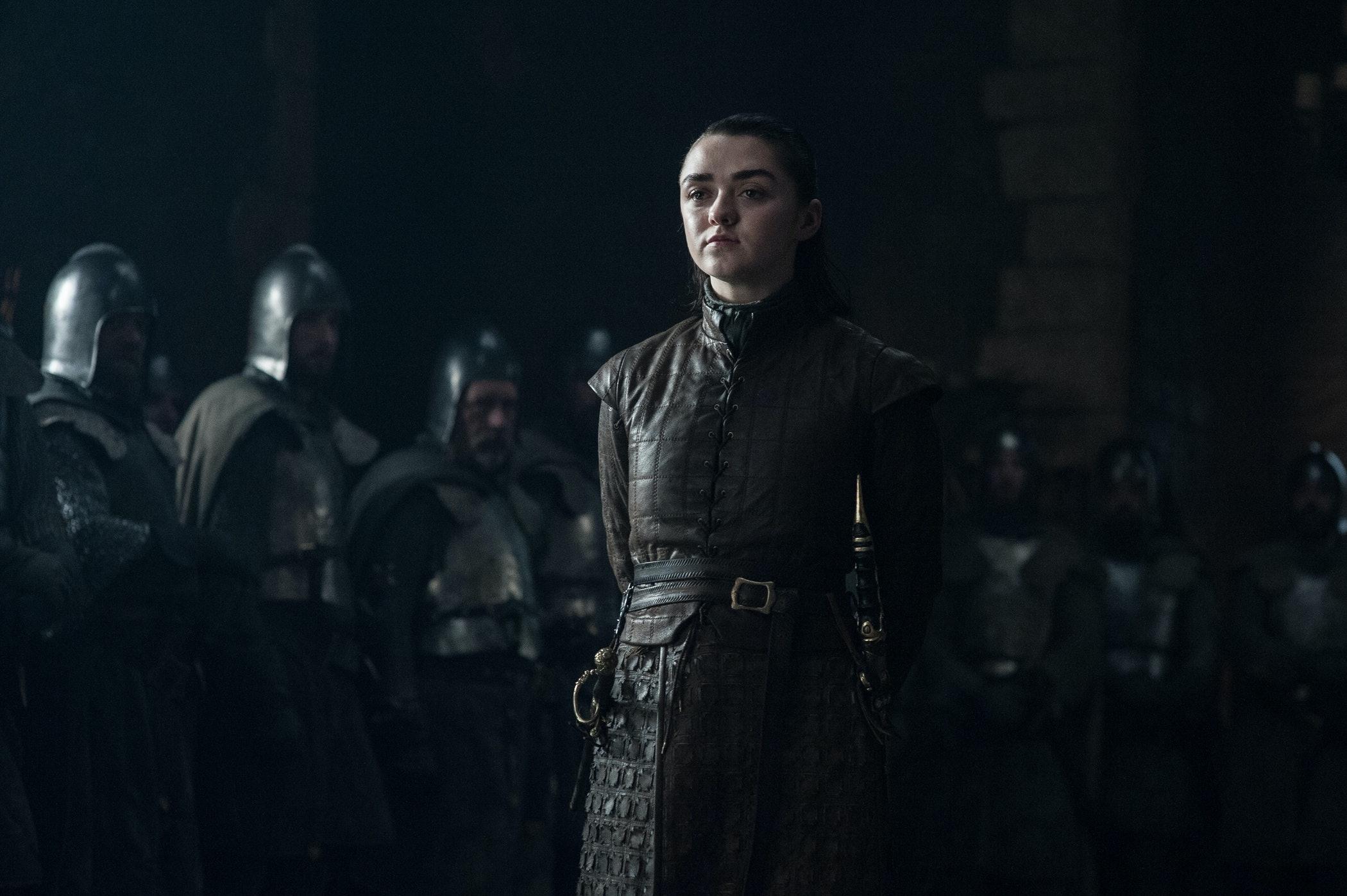 Does arya stark die in game of thrones season 8
