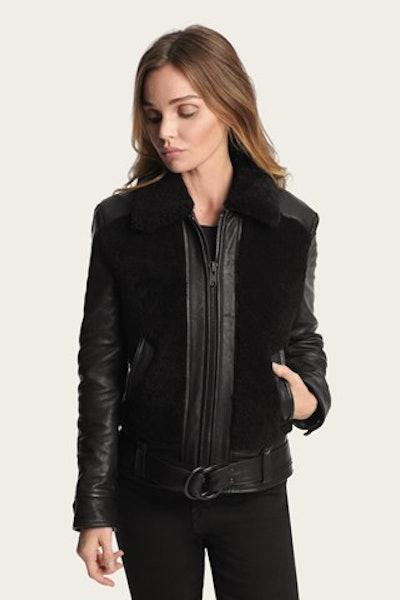 Schott NYC X Frye Grizzly Jacket