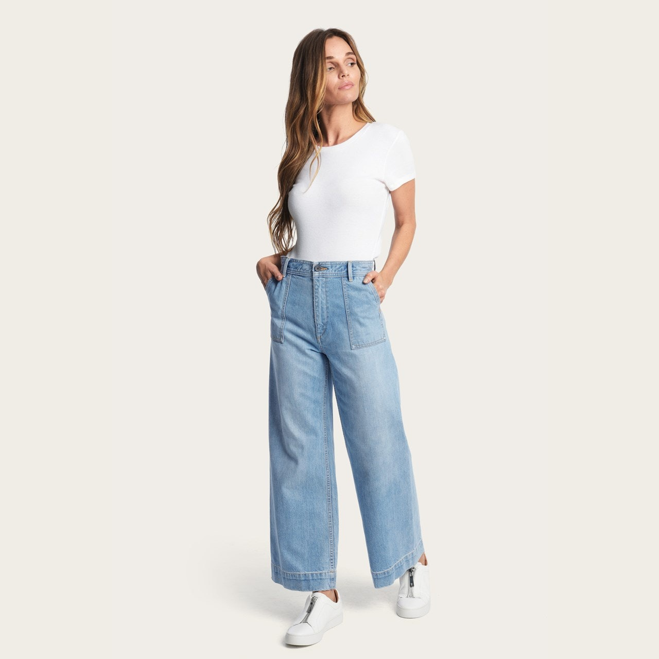 d5c5f550fdea Frye s New Clothing Collection Features The Perfect Wide-Leg Pants