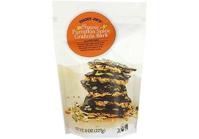 Pumpkin Spice Granola Bark