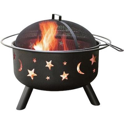 Landmann Big Sky Fire Pit, Stars and Moon