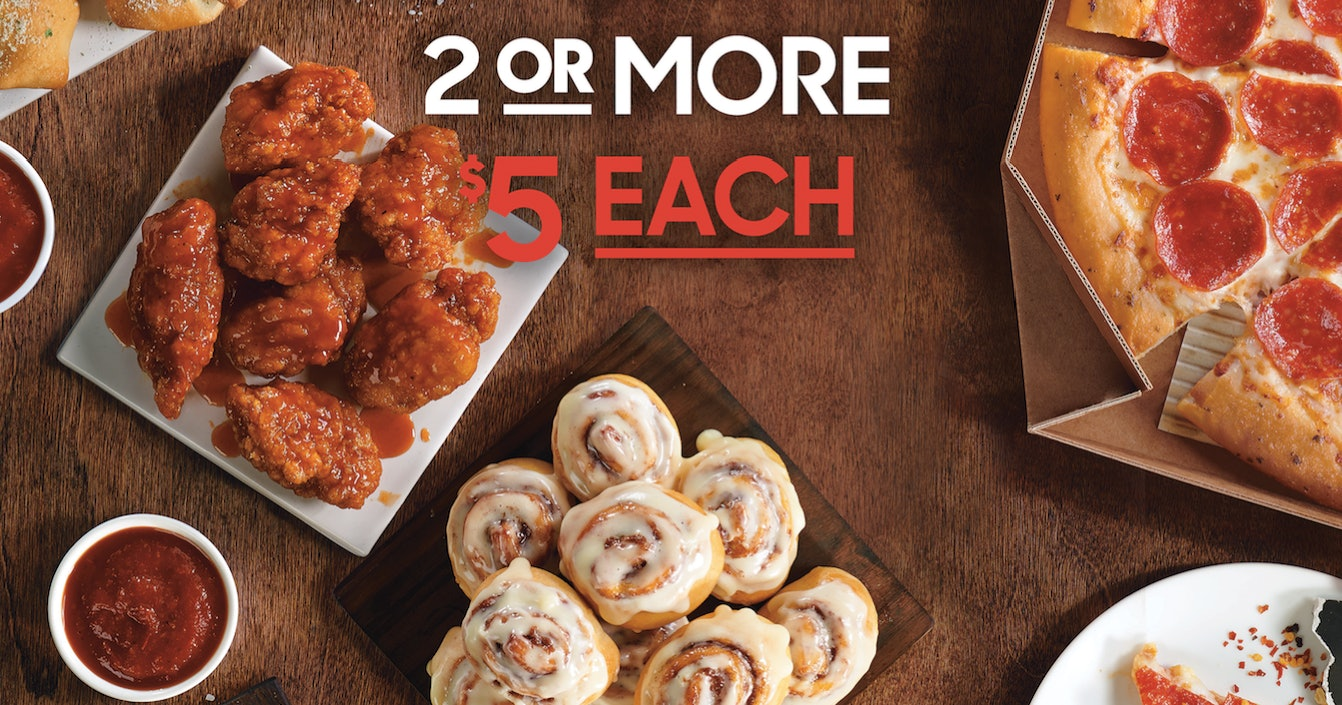 Pizza Hut S New 5 Deal Lets You Snag A Bunch Of Your Favorites At A Low Price