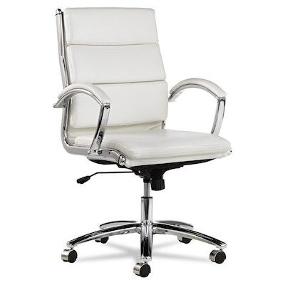 Alera ALENR4206 Neratoli Mid-Back Swivel Chair