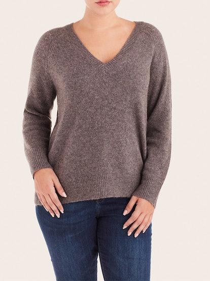 Poppy V-Neck Sweater