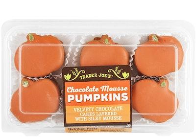 Chocolate Mousse Pumpkins
