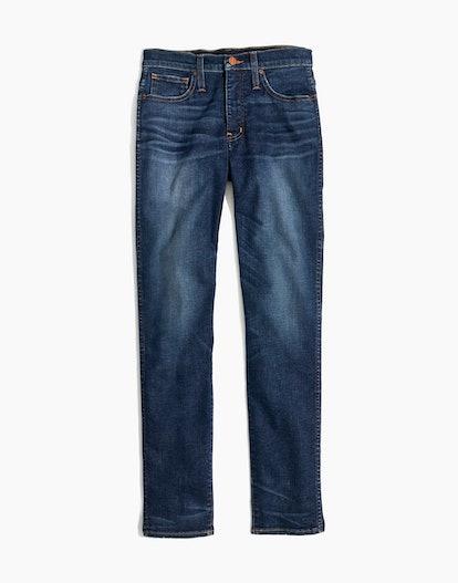 Slim Straight Jeans in William Wash
