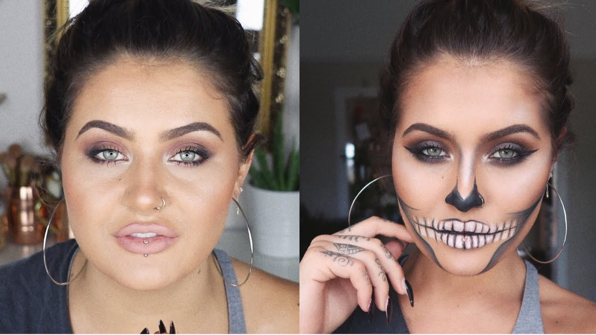 11 Halloween Makeup Tutorials Using Drugstore Products For An Affordable Halloween Look