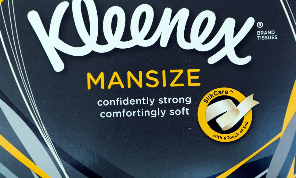 kleenex man size tissues will now be called extra large after