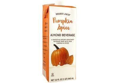 Pumpkin Spice Almond Beverage