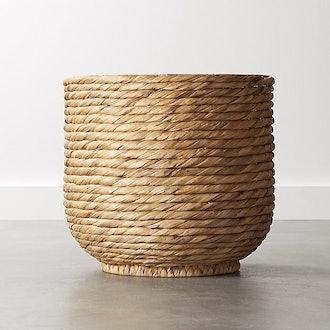 Coil Natural Palm Basket